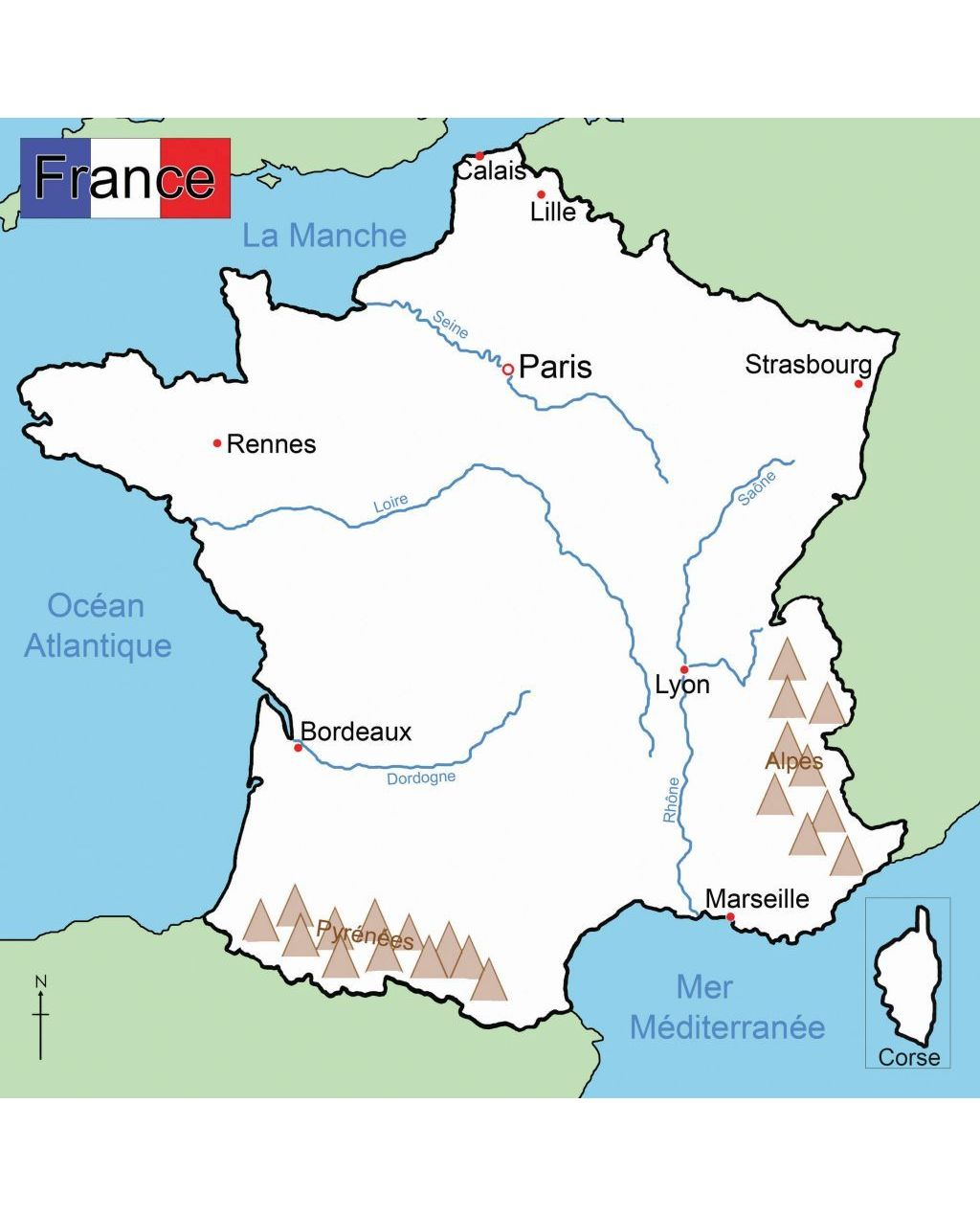 Map Of France Showing Lille.Map Of France Westcare Supply Zone